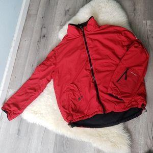 Tommy Hilfiger red winter jacket